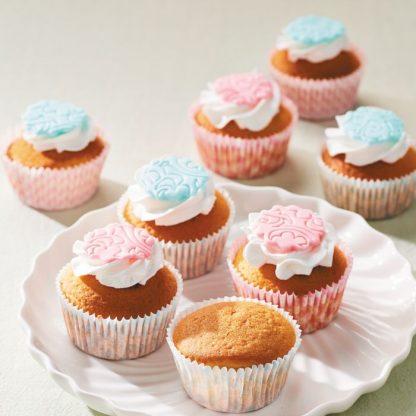 gedecoreerde cupcakes