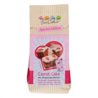 Carrot cake mix funcakes