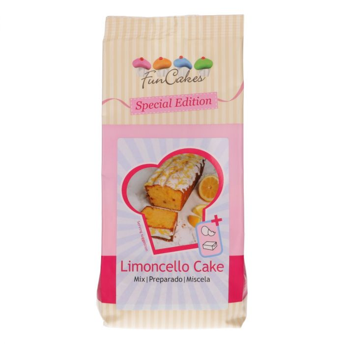 Limoncello cake mix funcakes