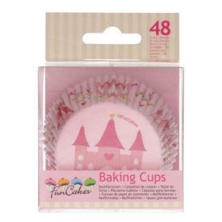 cupcake vormpjes prinses