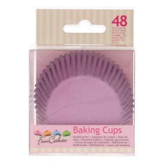 funcakes baking cups lila