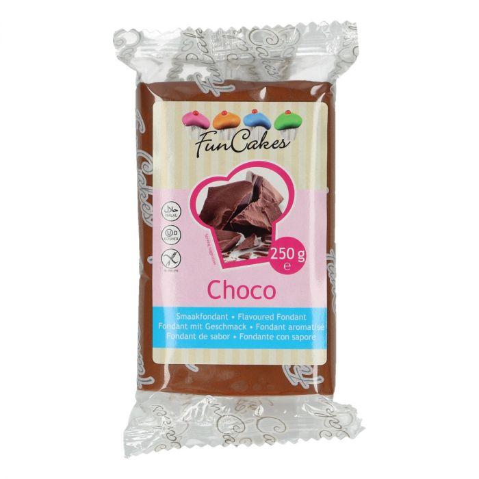 smaakfondant chocola