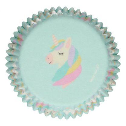 cupcake vormpjes unicorn