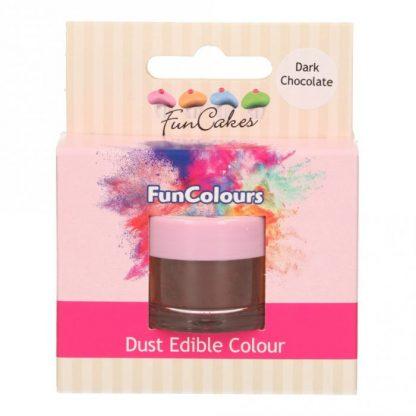 kleurpoeder dark chocolate