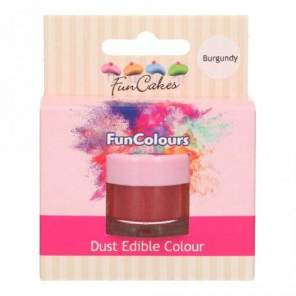 kleurpoeder burgundy