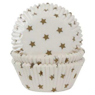 House of marie baking cups gouden sterren