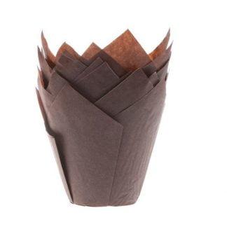 muffin cups tulp bruin