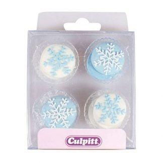 culpitt suikerdecoratie sneeuwvlokken