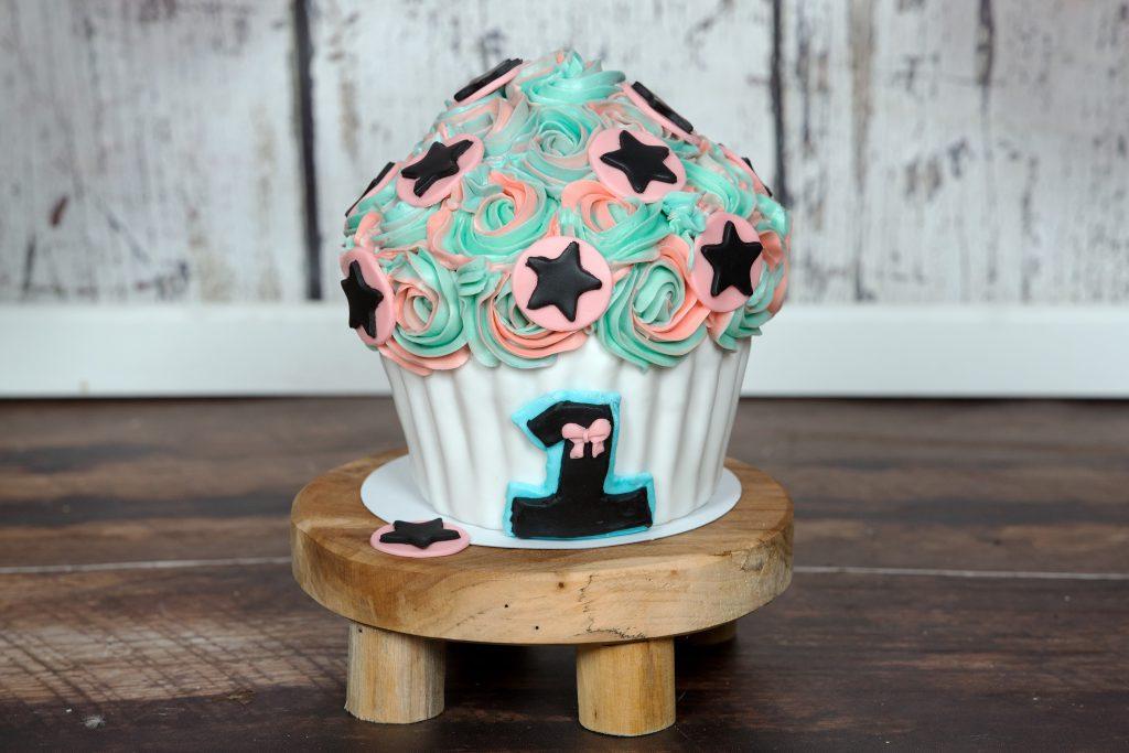 vrolijke smash cake