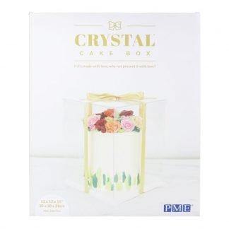 PME CRYSTAL CAKE BOX -25CM
