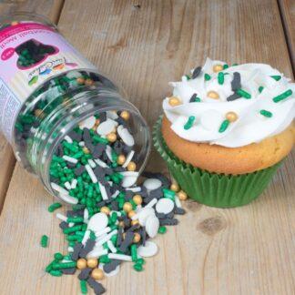 voetbal cupcakes bakpakket