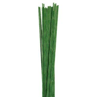 CULPITT FLORAL WIRE DARK GREEN SET/20 -18 GAUGE-