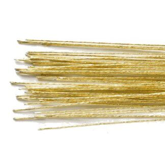 CULPITT FLORAL WIRE GOLD SET/50 -24 GAUGE-