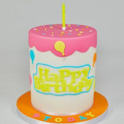 Happy birthday uitsteker