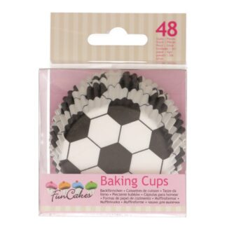 Baking cups soccer