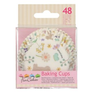 baking cups spring animals