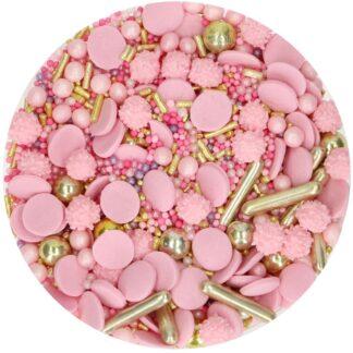 sprinkle medley glamour pink 65G