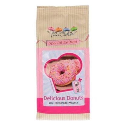 Donuts mix funcakes