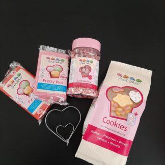 Bakpakket valentijns koekjes