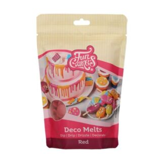 FunCakes Deco Melts -Red- 250g