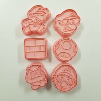 Mario Bros uitsteker set