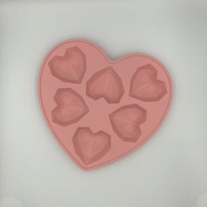 Chocolade Mal Geometrisch Hart