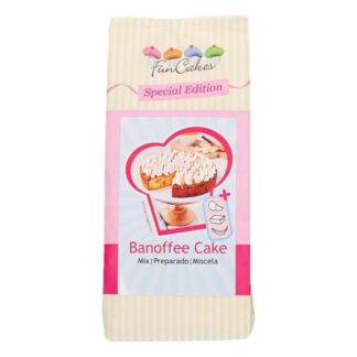 FunCakes Special Edition Mix voor Banoffee Cake