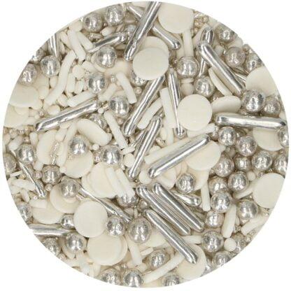 FunCakes Sprinkle Medley -Silver Chic