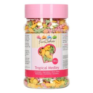 FunCakes Sprinkle Medley -Tropical- 180g