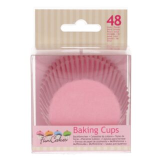 FunCakes Baking Cups Light Pink