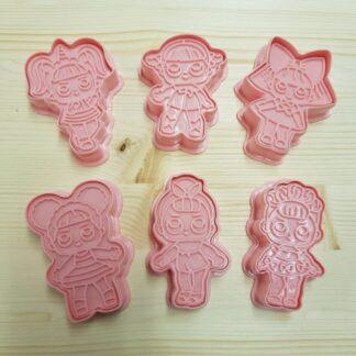 LOL surprise koekjes uitsteker set