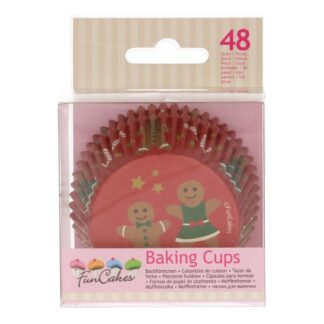 Gingerbread baking cups