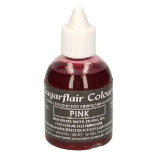 Sugarflair airbrush pink